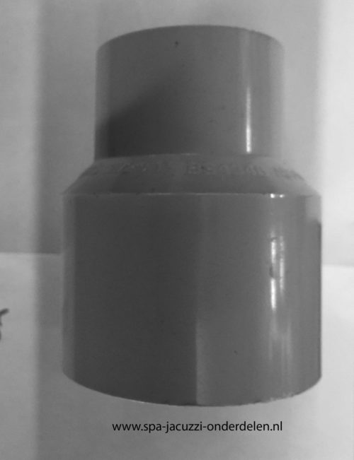 "1½"" × 1"" reducer, adapter A0A15S002040025."