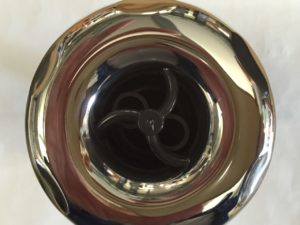 3'' jet internal, scallop face, twin pulse, stainless steel face, screw in, RD213-3423SC .