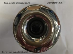 3½'' jet internal, directional, scallop face, stainless steel face, screw in, RD203-3713SC.