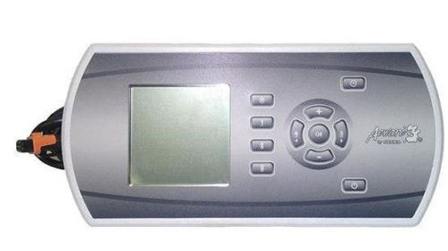 0607-009014  In.K600 Aeware Topside Control Panel In.K600-MB-ST-5OP-NO incl. grey overlay.