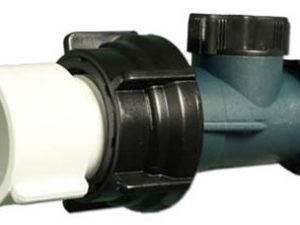 """400-2070  Waterway Drain Valve 3/4"""" hose on/off valve assembly."""