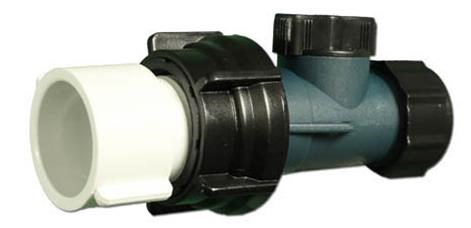 "400-2070  Waterway Drain Valve 3/4"" hose on/off valve assembly."