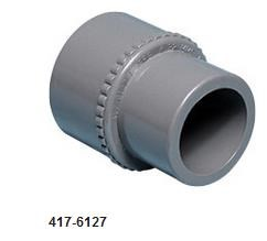 "417-6127  Metric adapter 1"" spg x 32mm s metric."