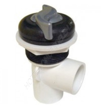 "600-4319DSG-PS   On/off turn valve, single port 2-tone ""s"" style."
