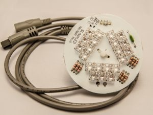 21 LED cluster, 5'' Inch light, daisy chain.
