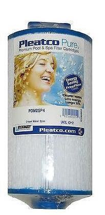 PDM25P4  Filter cartridge, origineel Pleatco.