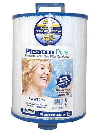 PWW50P3 Origineel Pleatco filter.