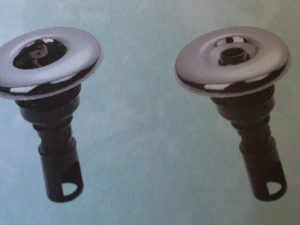 3'' jet internal, directional, scallop face, stainless steel face, screw in RD213-3713SC