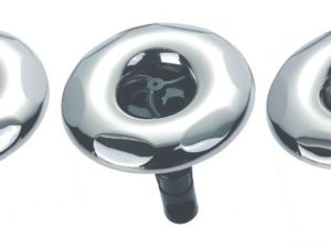 3½'' jet internal, scallop face, single pulse, stainless steel face-screw in, RD203-3413SC.
