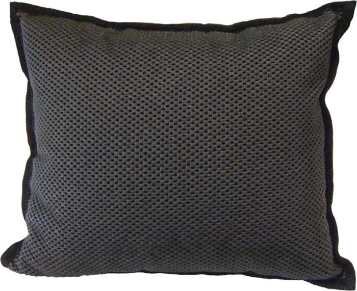 Seat cushion black. Zitkussen zwart.